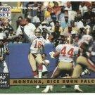 1991   Pro Set   # 329  Joe Montana