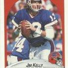 1990  Fleer   # 113   Jim Kelly   HOF'er