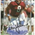 1997   Score Board   Autographed Collection    # 8   Steve Young