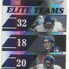 2006  Donruss Elite   Elite Teams Refractor  Chicago Bears  # ET4   Ser #ed