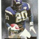 1995   Fleer Metal   Silver Flashers Insert   # 27   Natrone Means