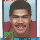 1990   Topps  # 381   Junior Seau RC!  HOF'er