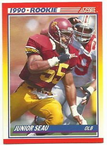 1990   Score  # 302   Junior Seau RC!  HOF'er