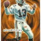 1995  Fleer Ultra   Ultrabilities Insert   # 1   Dan Marino  HOF'er