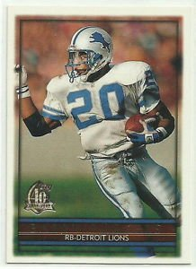 1996  Topps  40TH. Anniversary  # 40  Barry Sanders    HOF'er