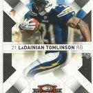 2009   Donruss Threads  # 80  LaDainian Tomlinson