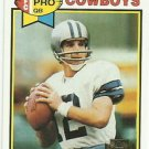 2001  Topps   Archives  Reprint  # 167  Roger Staubach