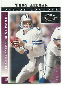 2000   Donruss Preferred QBC  # 74   Troy Aikman   HOF'er