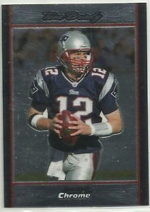 2007   Bowman Chrome   # BC172  Tom Brady