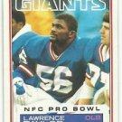 1983    Topps   #133   Lawrence Taylor   HOF'er
