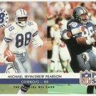 "1992 Pro Set  Magic Numbers ""88"" # 348  Michael Irvin / Drew Pearson   HOF'er"