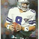 1995  Fleer Metal  # 48  Troy Aikman   HOF'er