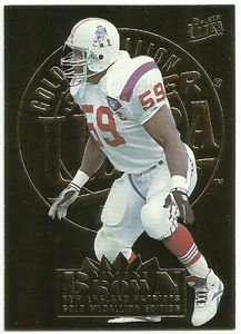 1995   Fleer Ultra  Gold Medallion  #  199   Vincent Brown