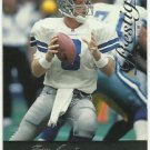 1996   Playoff Prestige  # 80  Troy Aikman   HOF'er