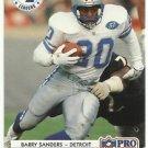 1992   Pro Set   Statistical Leaders   # 13   Barry Sanders