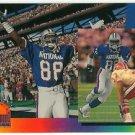 1993   UD  Pro Bowl Refractor  # PB10  Michael Irvin   HOF'er