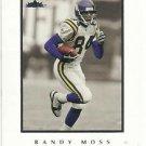 2004   Fleer  Inscribed  # 18   Randy Moss