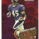 1999   Topps   Seasons Best  Strike Force Insert   # SB24  Corey Harris