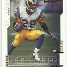 2000   Upper Deck  MVP    # 138   Marshall Faulk   HOF'er
