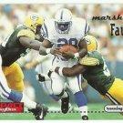 1996  Skybox Impact    # 61   Marshall Faulk   HOF'er