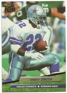 1992   Fleer Ultra   # 88   Emmitt Smith