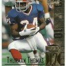 1999   UD Century Legends   # 67   Thurman Thomas