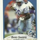 1990   Fleer   # 284    Barry Sanders