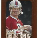 1997   Donruss Preferred   National Treasures   # 138   Steve Young