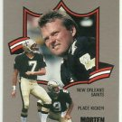 1990  Fleer   All Pro  Insert  # 23  Morten Andersen