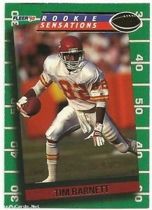 1992   Fleer   Rookie Sensations Insert    #12   Tim Barnett