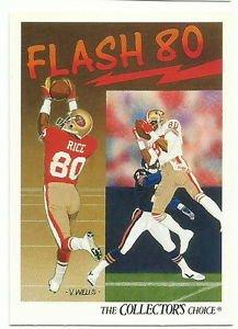 1991    Upper Deck   # 86  Jerry Rice /  49ers Checklist