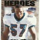 1999  Fleer Tradition Unsung Heroes Insert  # 15  O.J. Brigance