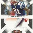 2009    Donruss  Threads  #  61   Randy Moss