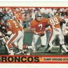 1989   Topps    # 238   John Elway / Broncos