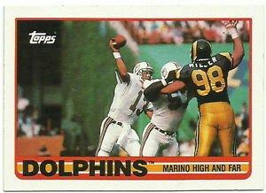 1989    Topps    # 290    Dan Marino / Dolphins