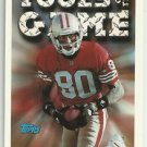 1994  Topps Tools of the Game  # 550  Jerry Rice  HOF'er