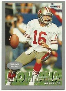 1993   Fleer     # 475   Joe Montana   HOF'er