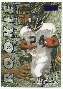 1997  Skybox Premium   Rookie Preview Insert  # 9  Byron Hanspard  RC!