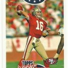2006 Topps   True Champions   Insert   # 15 Joe Montana