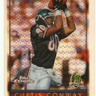 1996  Topps Chrome  40TH Anniv.  Refractor  #  59   Curtis Conway