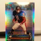 1996  Topps Chrome  40TH Anniv.  1000 YD. Club  Refractor  #  58  Rashaan Salaam