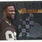1995   Fleer Metal    Platinum Portraits Insert   # 7   Andre Rison