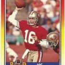 1990   Score    Record Breakers    # 594  Joe Montana