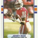 1989   Topps   All Pro   # 7   Jerry Rice