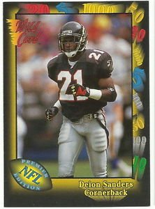 1991   Wild Card    # 70   Deion Sanders