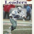 1992   Fleer   League Leader   # 453   Emmitt Smith