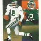 1991   Upper Deck  Eagles Checklist   # 84  Randall Cunningham