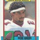 1990   Topps   Super Rookie   # 469   Deion Sanders   HOF'er