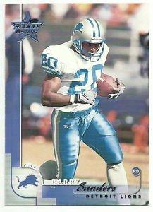 2000   Leaf Rookies & Stars   # 33   Barry Sanders