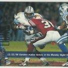 1997  UD   Game Dated   # 191  Barry Sanders    HOF'er
